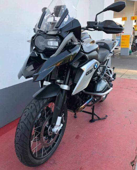BMW R 1200 GS Sport Triple Black - Foto #4