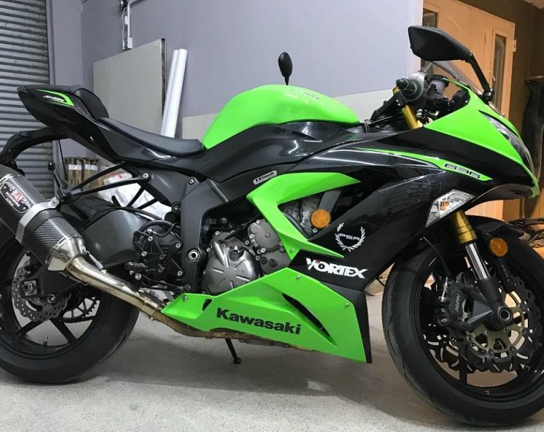 Kawasaki Ninja Zx 6R - Foto #1