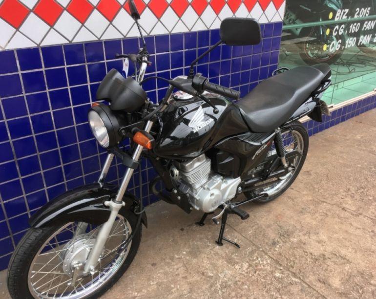 Honda Cg 150 Fan ESi - Foto #3