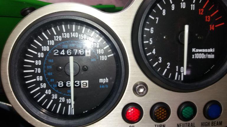 Kawasaki Ninja ZX 9R 900cc - Foto #4
