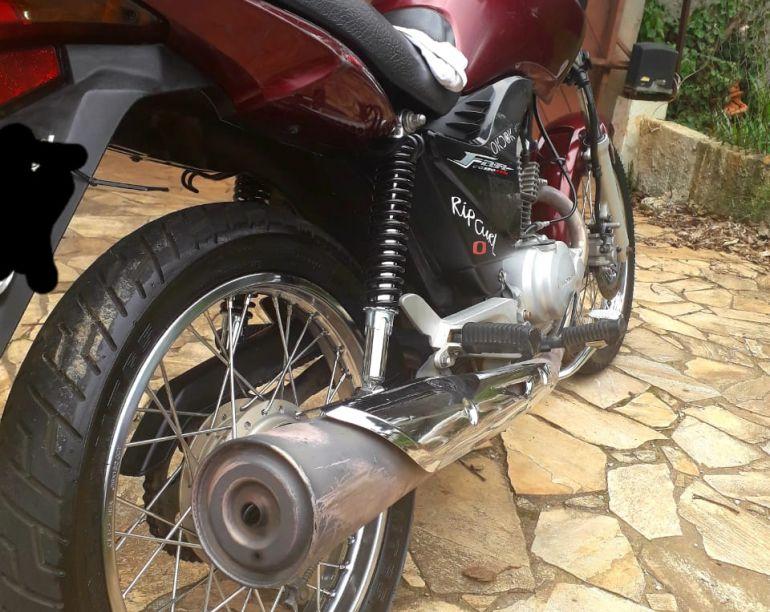 Honda Cg 150 Fan ESDi - Foto #5