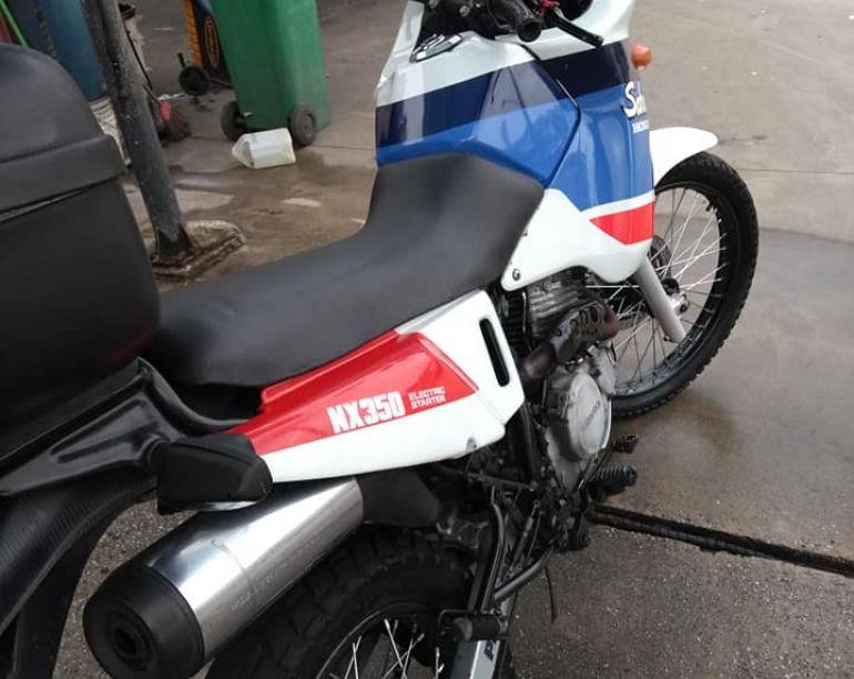 Honda Nx 350 Sahara - Foto #5