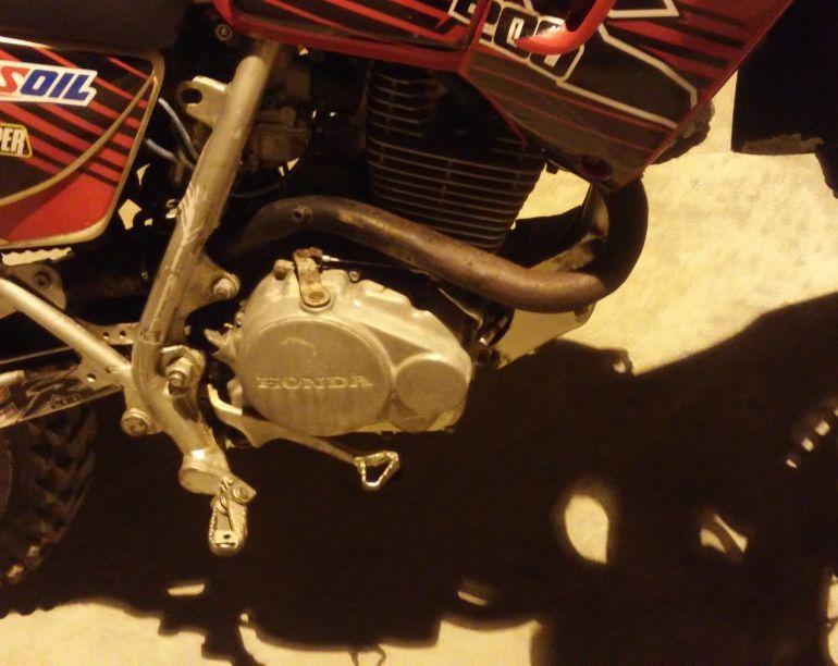 Honda Nx 200 - Foto #3