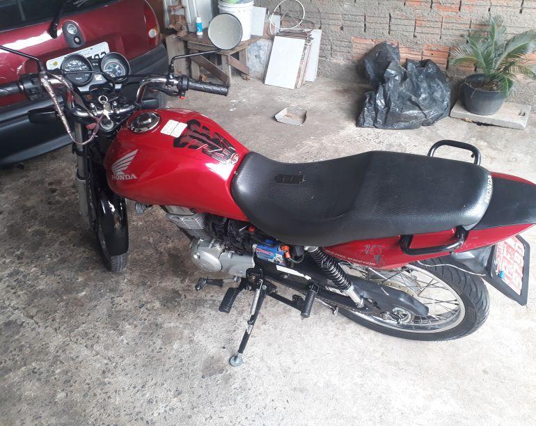 Honda Cg 150 Fan ESi - Foto #4
