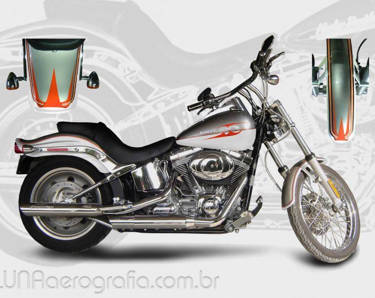 Harley-Davidson Fxstd Softail Deuce - Foto #1