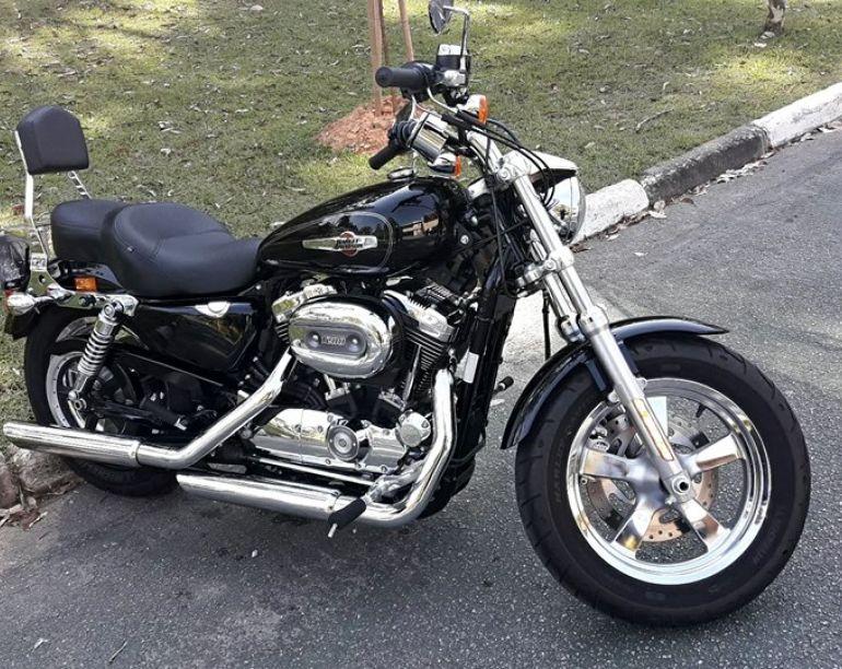 Harley-Davidson Sportster 1200 Custom CB - Foto #1
