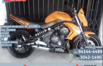 Kawasaki ER 6N - Foto #2
