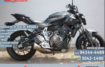 Yamaha MT 07 (ABS)