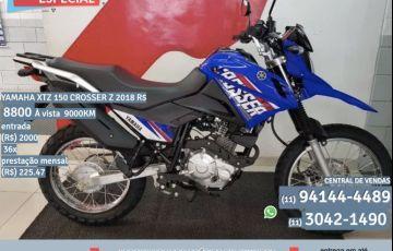 Yamaha Xtz 150 Crosser Z