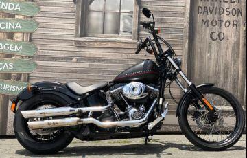 Harley-Davidson Softail Blackline - Foto #2