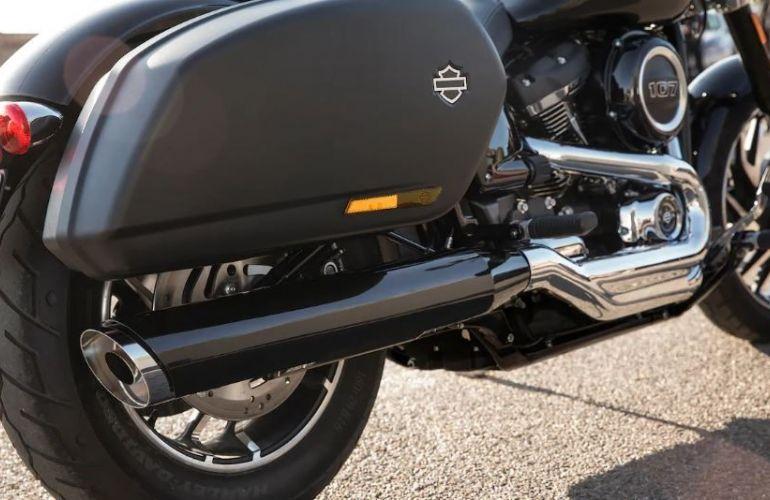 Harley-Davidson Sport Glide - Foto #4